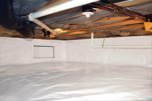 Crawl Space Repair After in Maui